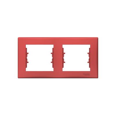 Sedna piros keret 2-es, vízszintes piros SDN5800341
