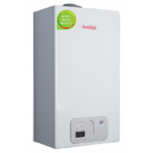 ANTEA CONDENSING KRB 24  Fali kondenzációs gázkazán beépített váltószelepes fűtő változatban 24kW KAOU02RU24